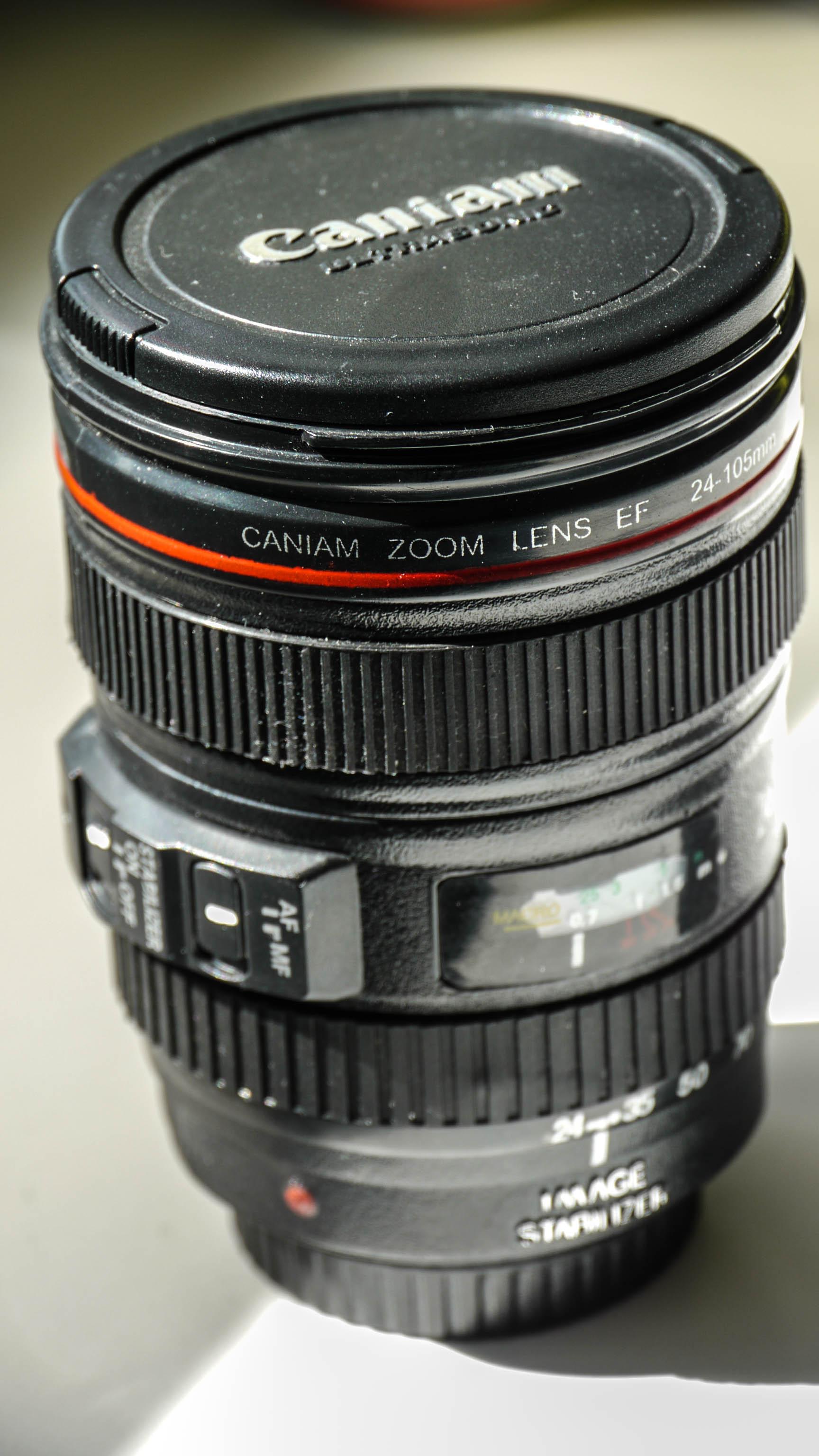 Caniam objectif mug canon lens 2 blog for Canon photo lens mug