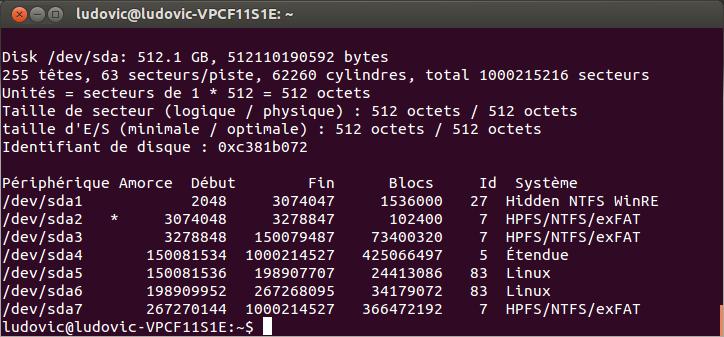 terminal-list-disk